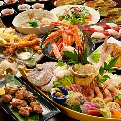 漁師の宴 頂(いただき)コース 5000円